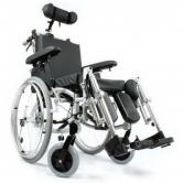 MDH Wózek inwalidzki, komfortowy, stabilizujący plecy i głowę Comfort VCWK7C